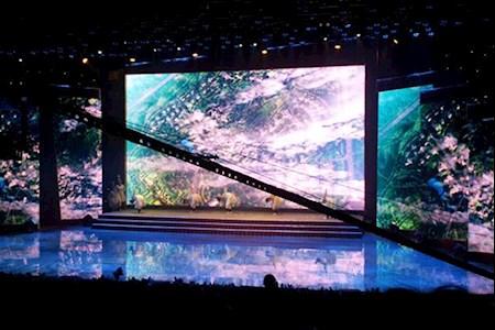 大型舞台led屏幕侧屏