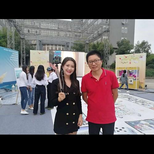 韩国旅游武汉传媒学院推广活动