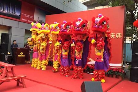 深圳舞狮队-舞狮表演