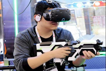 VR枪战 VR设备出租 VR天地行 租VR VR租赁 VR设备租赁 VR射击游戏