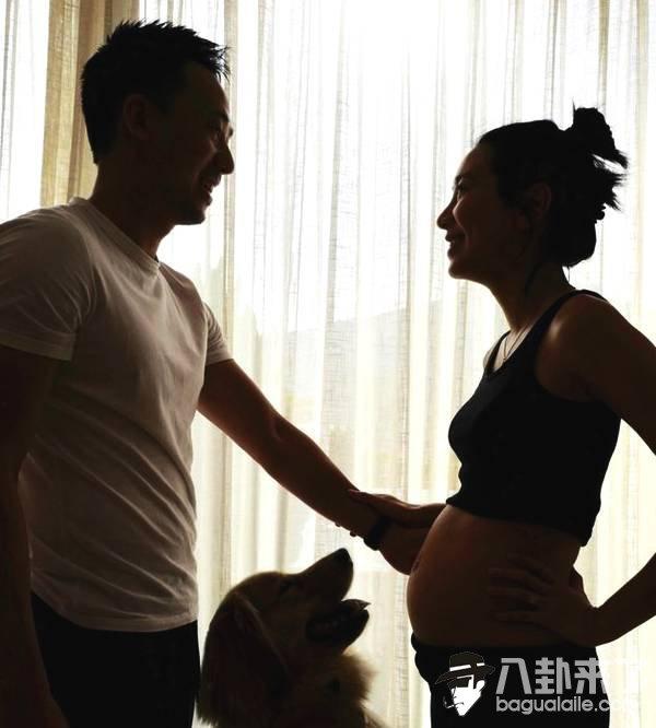 吴雨霏怀胎6月身材依旧火辣 晒照分享好心情