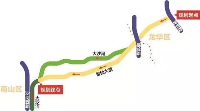 南山-龙华跨区自行车道惊艳亮相,约上小伙伴一起去骑行吧~