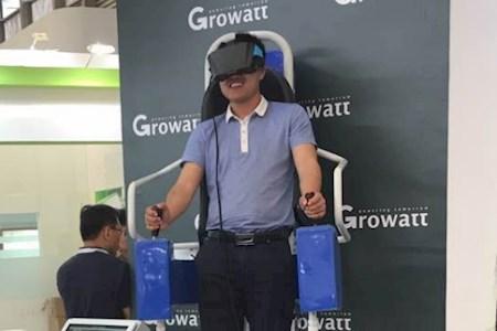 站立式VR飞行器
